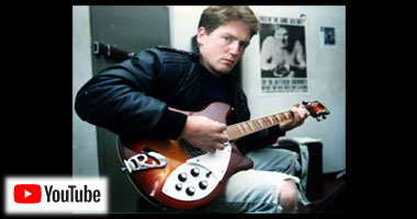 Bill with Rickenbacker